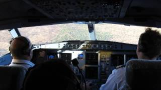 Approach and Landing at Windhoek RWY 26