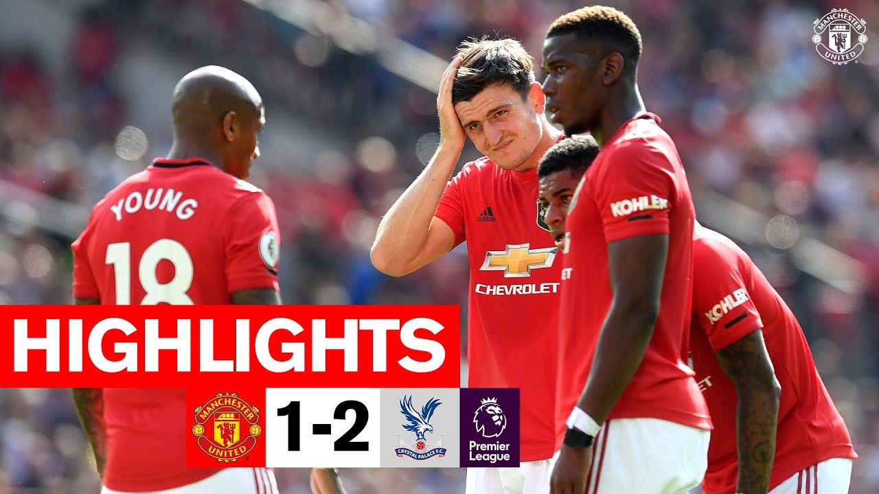 FA Premiership Manchester United v Crystal Palace 24 August 2019