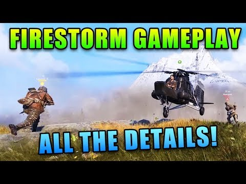 Firestorm Gameplay and TONS OF DETAILS!
