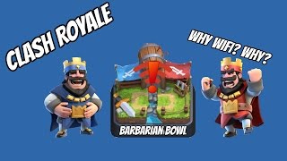 CLASH ROYALE! (Connection Issues FML)