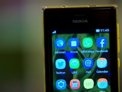 Nokia Asha 503 has a statement design