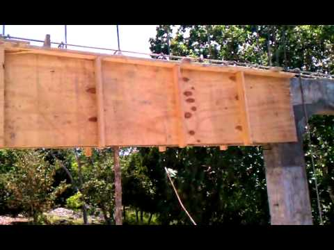 House building in jamaica part 22 youtube for Building a house in jamaica