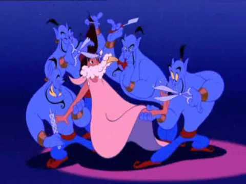 Aladdin Soundtrack - You ain't never had a friend like me