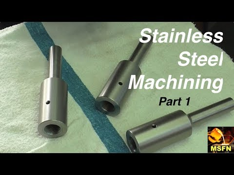 Hogging Out 303 STAINLESS / Horizontal Boring Bar Components / Part 1 - MSFN