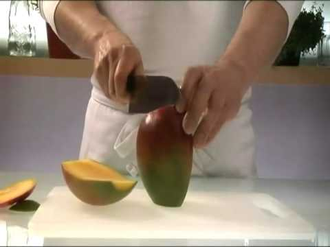 How to prepare a mango ready to eat youtube how to prepare a mango ready to eat ccuart Gallery