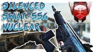 SILENCED SWAT-556 NUCLEAR! - Black Ops 2 PC Nuclear - (Call of Duty: Black Ops 2)