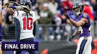 Marcus Peters Has Brought Major Swag | Ravens Final Drive