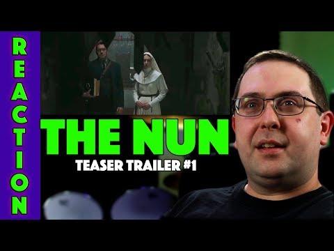 REACTION! The Nun Teaser Trailer #1 - Taissa Farmiga The Conjuring Prequel 2018