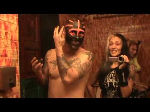 Mushroomhead behind the scene at HOB Hollywood 2014