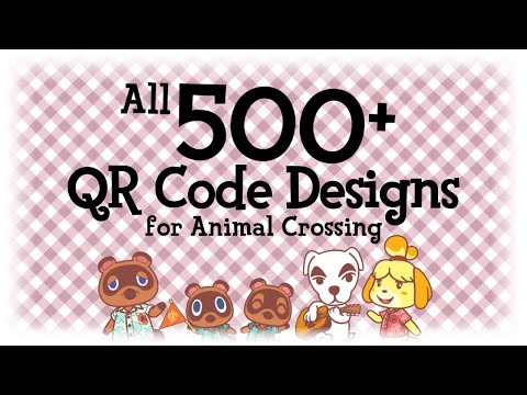 All 500 Qr Code Designs Animal Crossing New Horizons Acnh