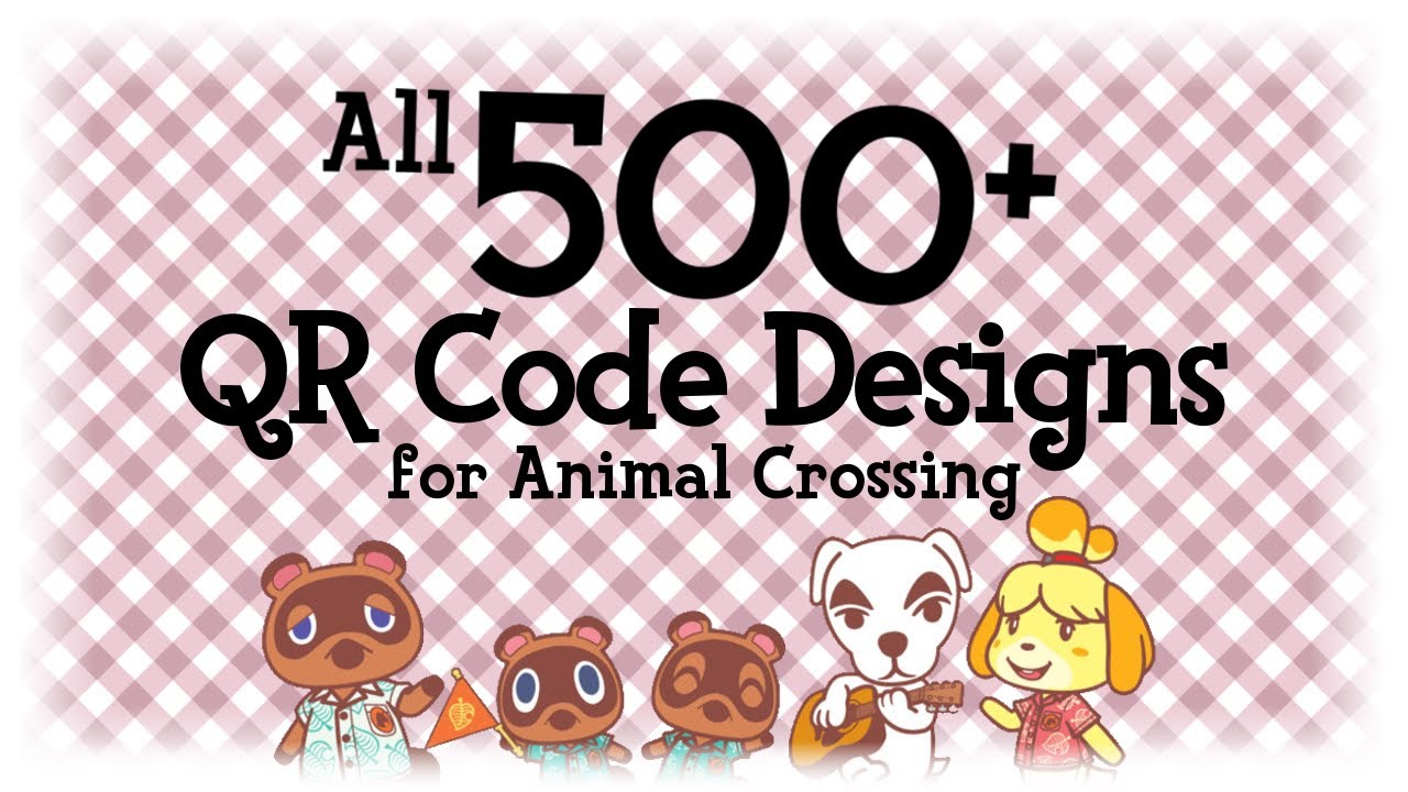 Animal Crossing New Horizons Qr Codes And Custom Designs Download