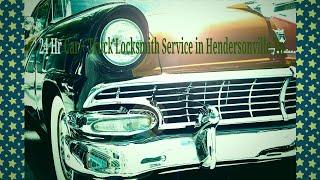 24 Hr Car + Truck Locksmith Service in Hendersonville Tn