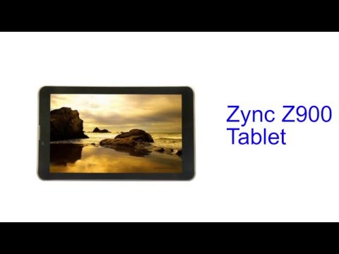 Zync Z900 Tablet Specification [INDIA]