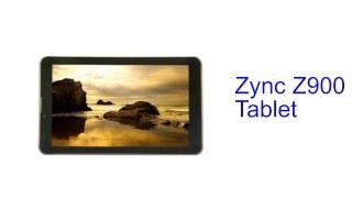 Zync Z900 Tablet Specification [INDIA]