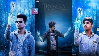 PicsArt 3D Winter Hand Photo Editing tutorial in picsart Step by Step in Hindi - Viral photo editing