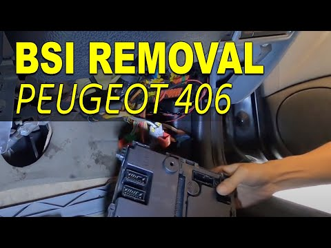 How To Remove Built in System Interface BSI PEUGEOT 406 by Do It Yourself
