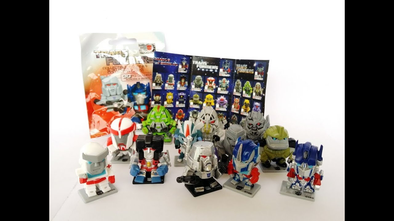 30th Anniversary Transformers Mini Figure Figurines Found