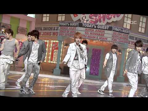 Super Junior - It's You, 슈퍼주니어 - 너라고, Music Core 20090606