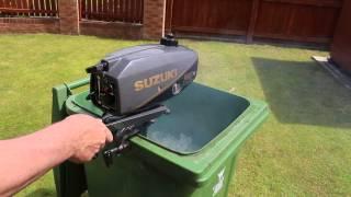 Video Suzuki 2hp outboard motor 2 stroke long shaft download MP3, 3GP, MP4, WEBM, AVI, FLV Agustus 2018
