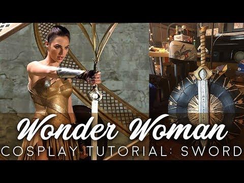 Wonder Woman Cosplay Tutorial: Sword (Godkiller)