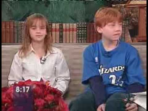 Emma Watson and Rupert Grint interview - YouTube руперт гринт