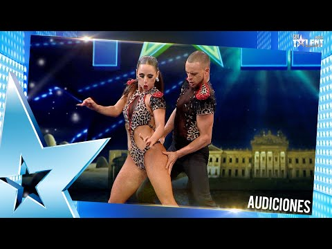 ¡BRAULIO Y VALENTINA encendieron el escenario con su coreo!