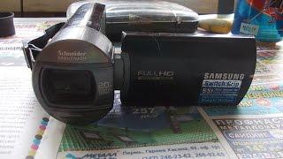 ремонт видеокамеры Samsung HMX- Q10BP разборка
