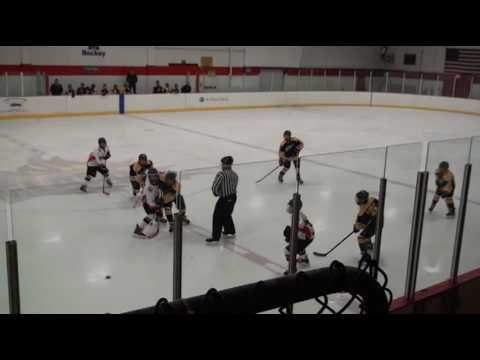 Manchester Flames vs NH East Eagles - Peewee Granite State League (10/30/16)