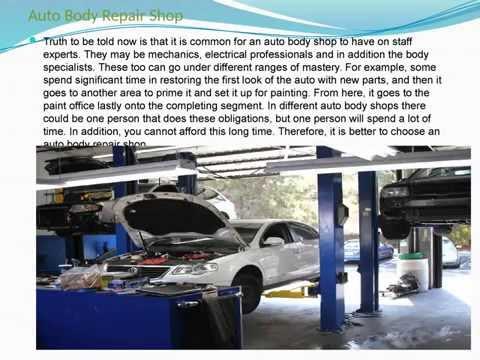 Auto body repair shop Calgary