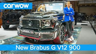 Brabus G V12 900hp - the V12 Mercedes-AMG G63