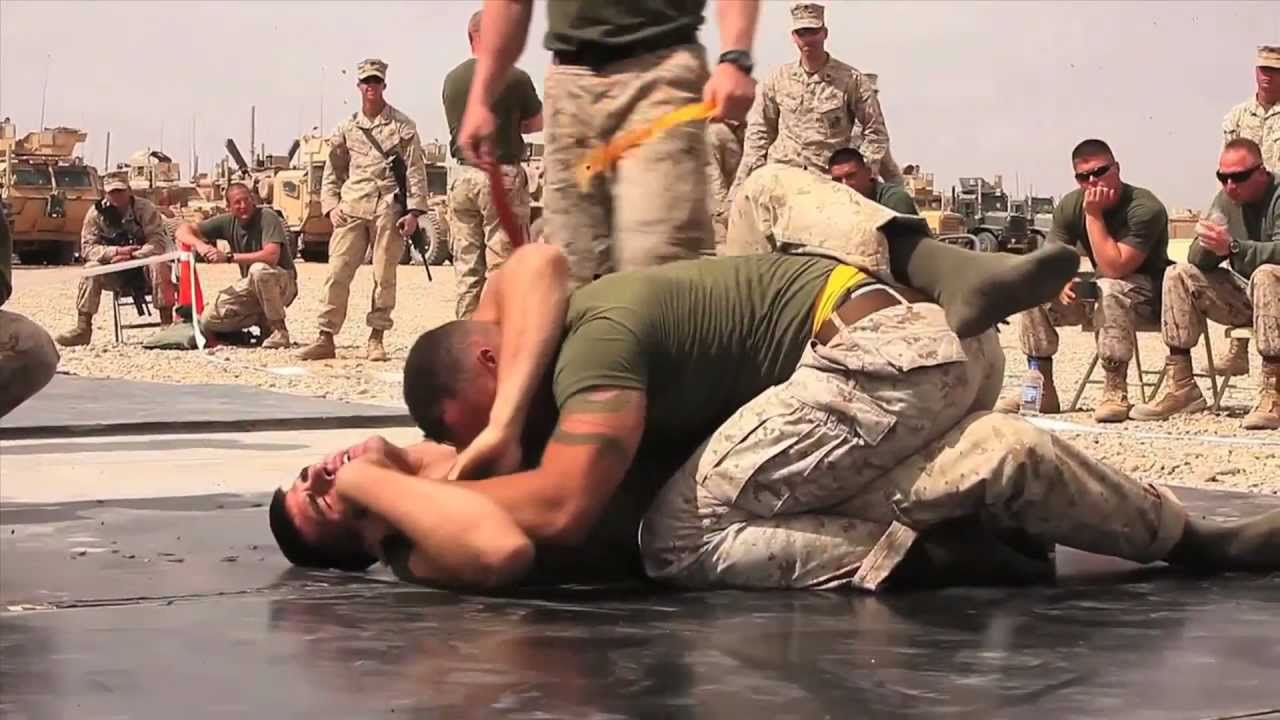 CLB-1 Marines' Fighting Tournament in Helmand Province ...
