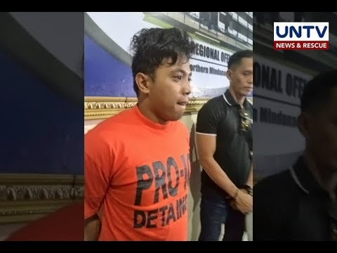 Pinaghihinalaang Maute bomber naaresto sa Cagayan de Oro City
