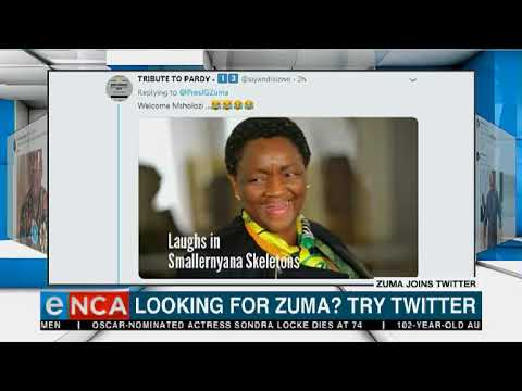 Looking for Zuma? Try Twitter