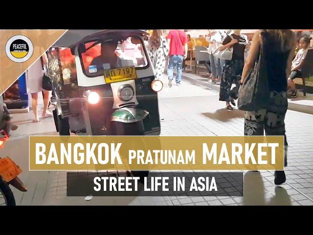 STREET LIFE #4 / Bangkok / Pratunam market / Baiyoke Tower  / 29.01.2020