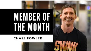 November Member of the Month - Chase Fowler