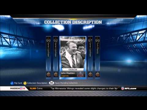 2 Star Gene Upshaw Collection Complete MUT 13