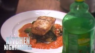 Chef Refuses to Taste Gordon's Food - Kitchen Nightmares