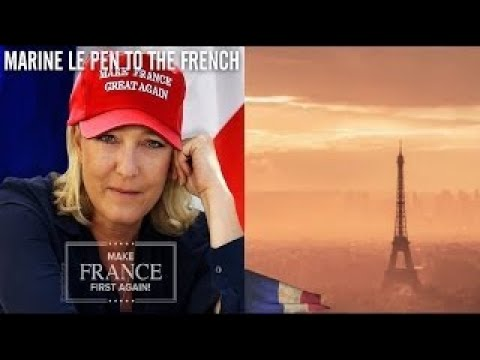 Marine Le Pen to the French She's Move Second Round on Election for France!!!