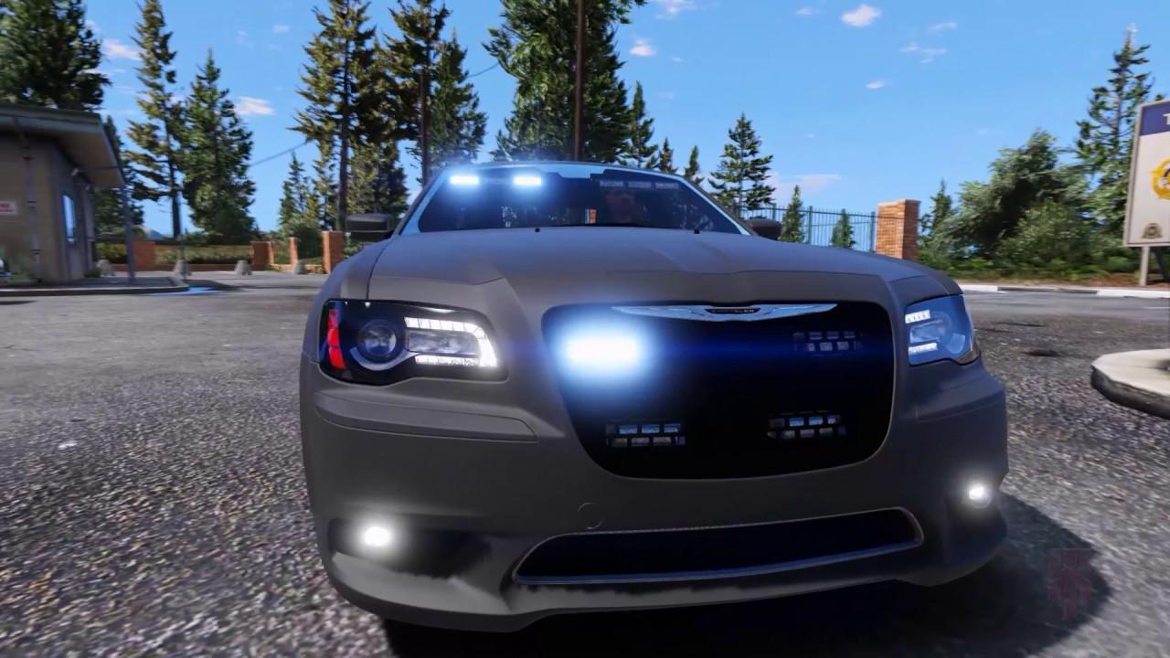 Gta V Chrysler 300c Undercover Police Usa Inspired Build Abandoned Version