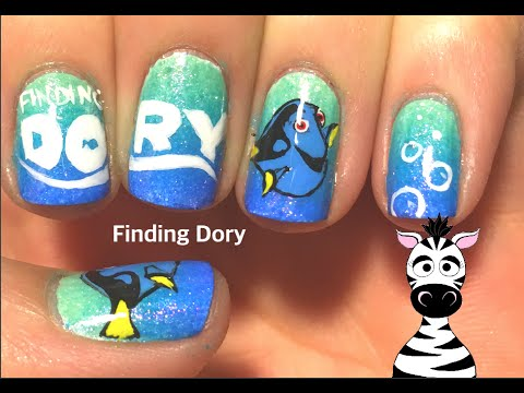 Finding dory nail art tutorial youtube finding dory nail art tutorial prinsesfo Gallery