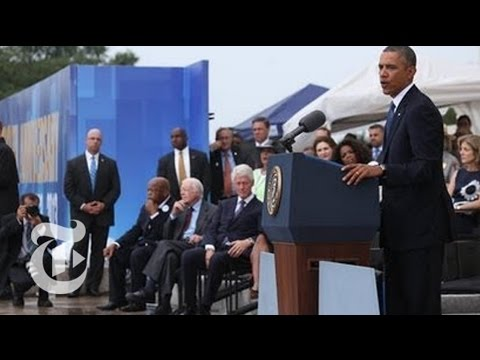 President Obama's Speech on 50th Anniversary of March on Washington | The New York Times