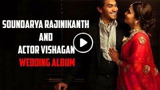 Exclusive Wedding photos of Soundarya Rajinikanth & Vishagan Vanagamudi | TBG Bridal Store