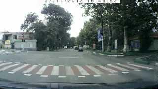 Девушка за рулем Deawoo Matiz  АН9715НВ