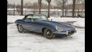 1963 JAGUAR E TYPE SERIES 1 3.8 ROADSTER