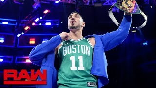 Boston Celtics center Enes Kanter wins 24/7 Title: Raw Exclusive, Sept. 9, 2019