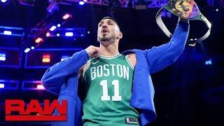 Boston Celtics center Enes Kanter wins 24/7 Title: Raw Exclusive, Sept. 9, 2019