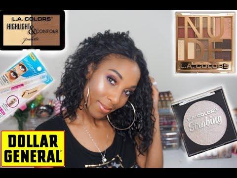 Full Face Of Dollar Store Makeup: Dollar General Makeup!!!!!!