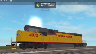 Roblox UP SD70ACE tour de taxi et plus encore!
