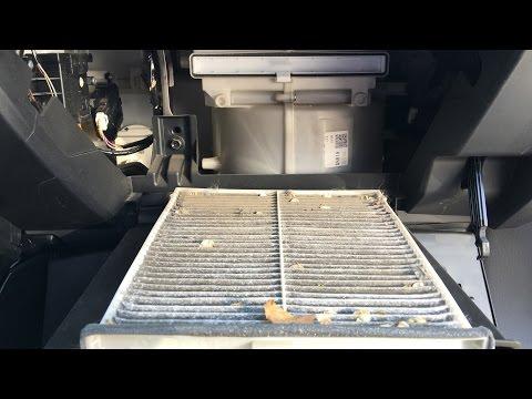 Mazda 6 бесплатная замена салонного фильтра.