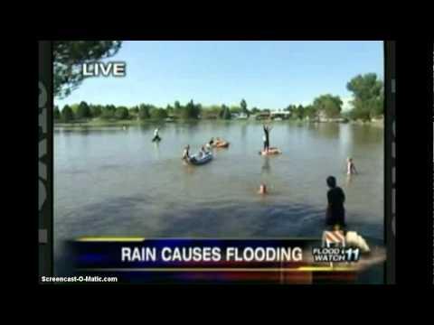 West Jordan Flood At My Schools Park *SORRY FOR NO SOUND*!